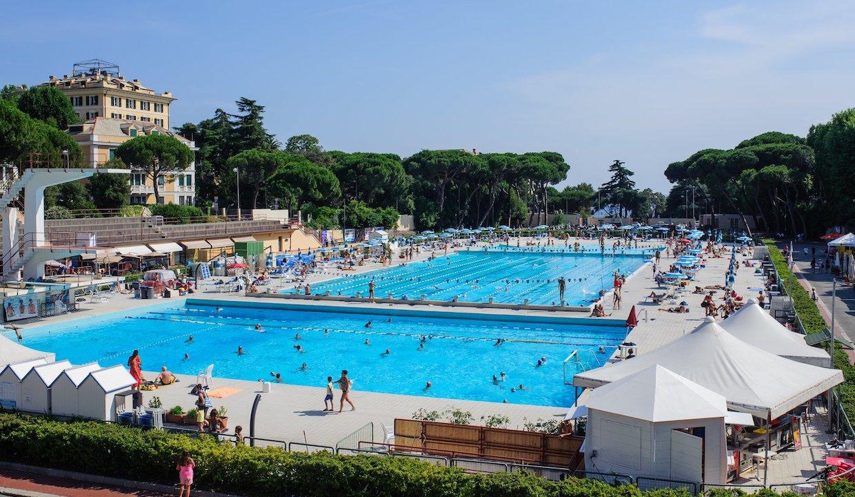 Piscine Di Albaro.Nuota24ore A Favore Dell Ospedale San Martino Ist Alle