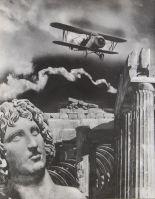 Janusz Maria Brzeski, Due civilizzazioni, 1933, fotomontaggio, vintage, cm_28,5x22, JPG