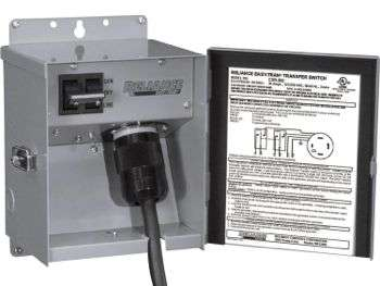 A basic transfer switch from Reliance
