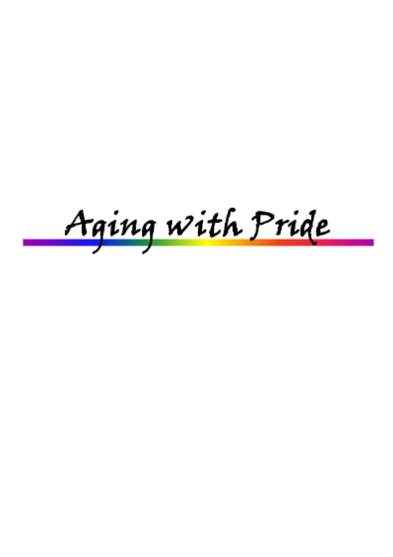 Aging with Pride logo