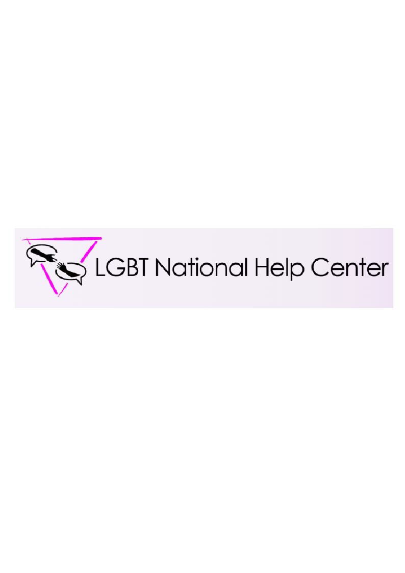 LGBT National help Center logo