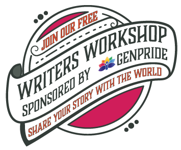 Writers Workshop sponsored by GENPride poster