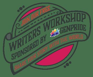Writers Workshop sponsored by GENPride poster