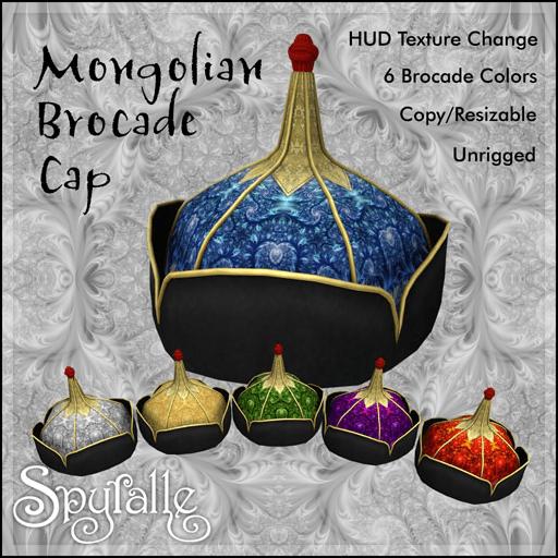 spyralle-mongolian-brocade-cap