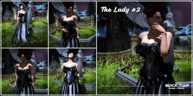 [Black Tulip] Poses - The Lady #3 (2_1 ad)