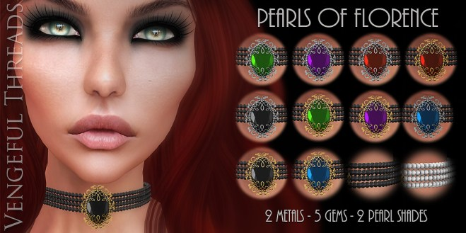 Vengeful Threads - Original Mesh - Pearls of Florence_AD