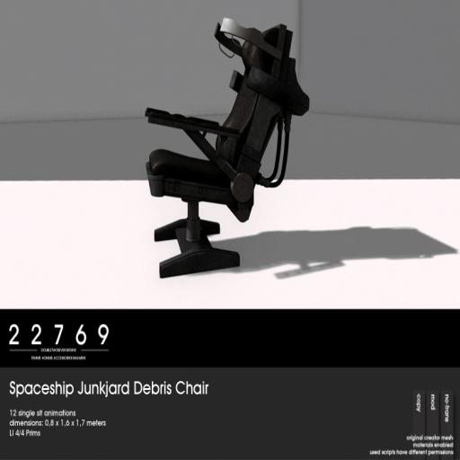 22769 - Spaceship Junkjard Debris Chair [ad]