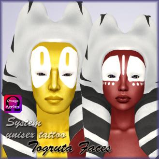 NewAds - Togruta Faces