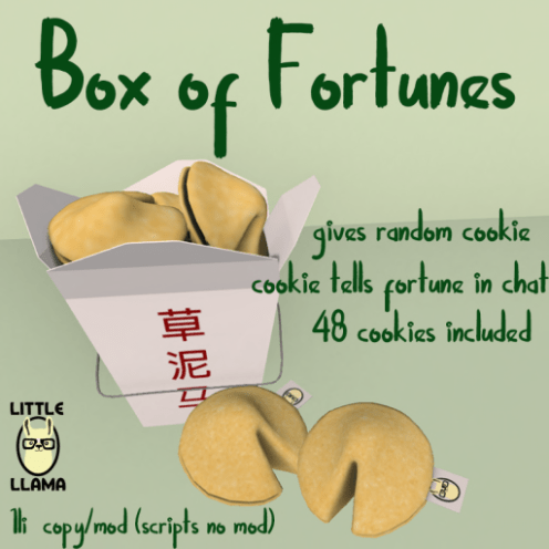 LL Box of Fortunes
