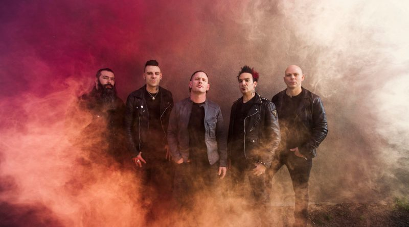 Stone Sour Press Shot