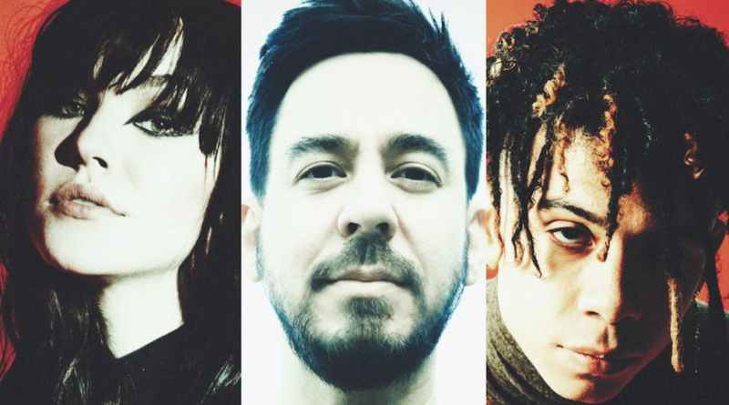 Hear Mike Shinoda Team Up With UPSAHL And Iann Dior On 'Happy Endings'