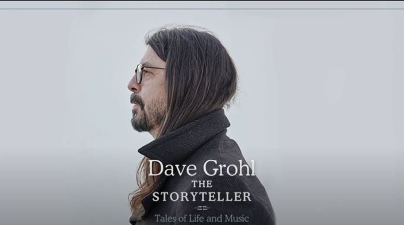 Dave Grohl Announces First Book 'Dave Grohl: The Storyteller'