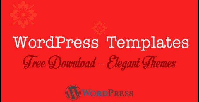 Wordpress Templates Free Download
