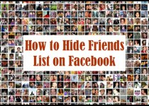 hide friends on facebook