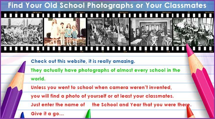World School Photographs Database