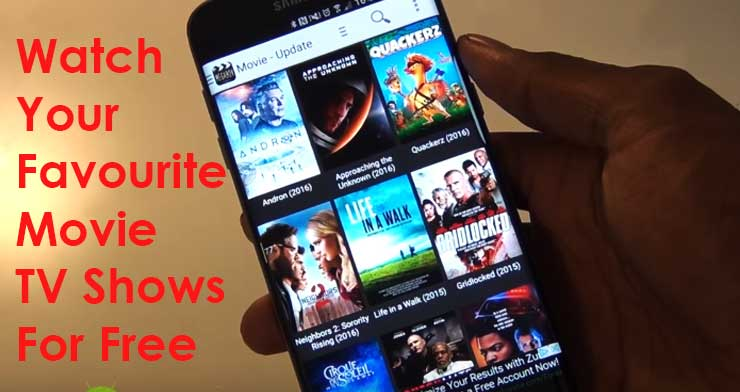 Watch Unlimited Free 360p / 720p / 1080p / 3D Movies & TV Shows on Your Andriod Phone