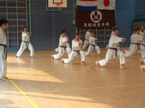 tijdens training