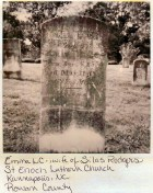 Emma L. C. Rodgers, wife of Silas Rodgers