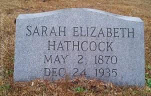 Sarah Elizabeth Hathcock