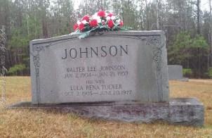 Walter Lee and Lula Rena Tucker Johnson