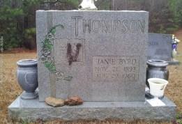 Janie Byrd Thompson