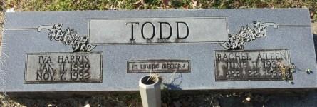 Todd_IvaHarris_and_RachelAileen_WhiteCrestBapt_MtGileadMontgomeryCoNC