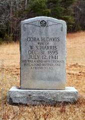 Harris_CoraHDavis_StoneyForkBapt_MtGileadMontgomeryCoNC