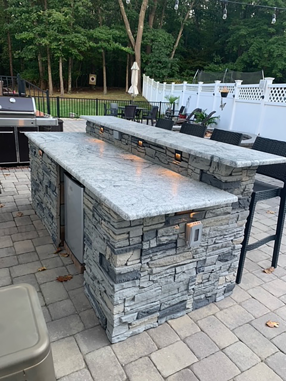 carl s diy patio bar outdoor stone