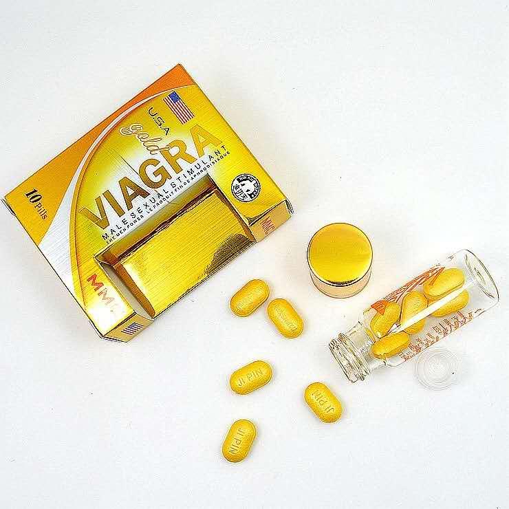 美国进口金伟哥 Gold Viagra (10颗装)-RM150