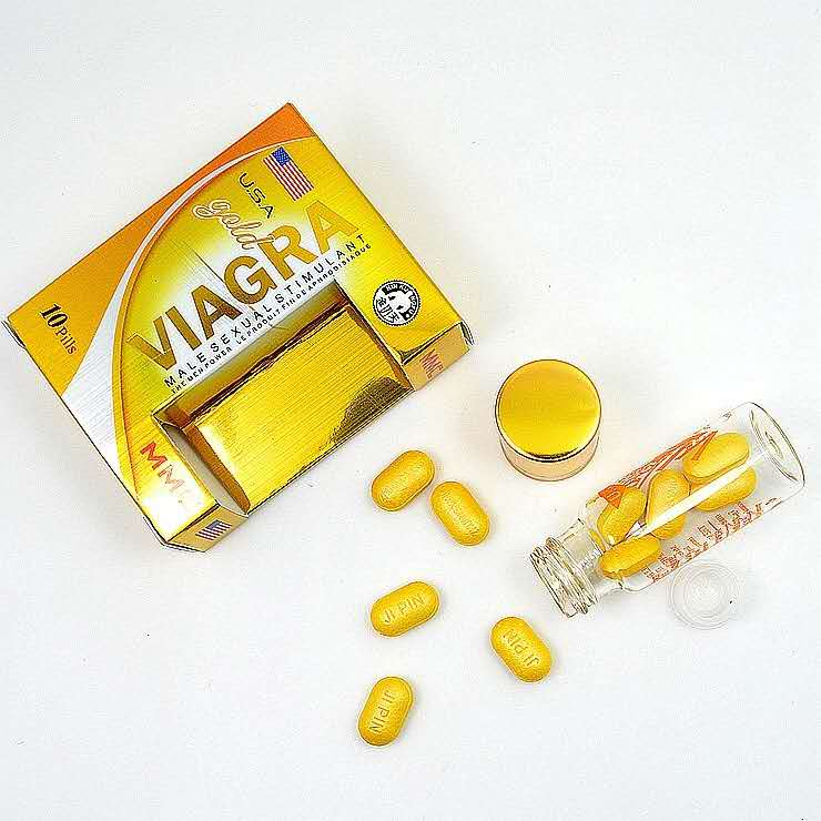 Gold Viagra (10biji)-RM150