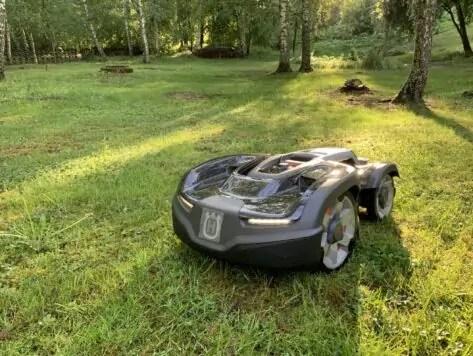 Ogräsbekämpning, Automower