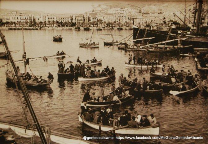 Alicante-en-el-recuerdo-el-puerto