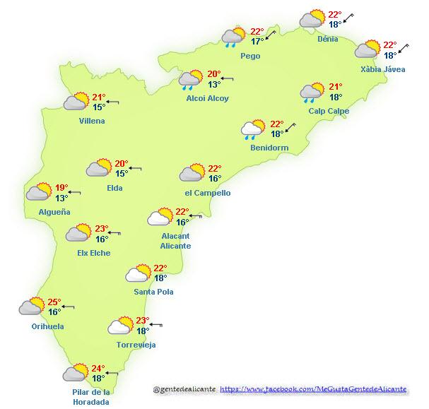 El-Tiempo-en-Alicante-y-provincia-hoy-11-de-Octubre