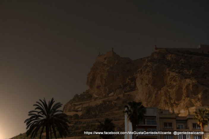 La-Cara-del-moro-Alicante-atardecer