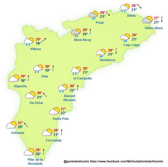 El-Tiempo-en-Alicante-y-provincia-hoy-04-de-Octubre