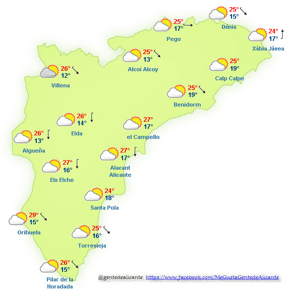 El-Tiempo-en-Alicante-y-provincia-hoy-27-de-Octubre