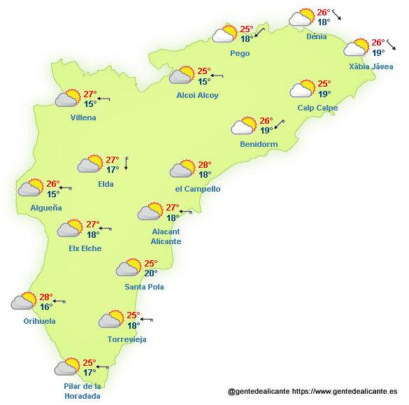 El-Tiempo-en-Alicante-y-provincia-hoy-18-de-Octubre