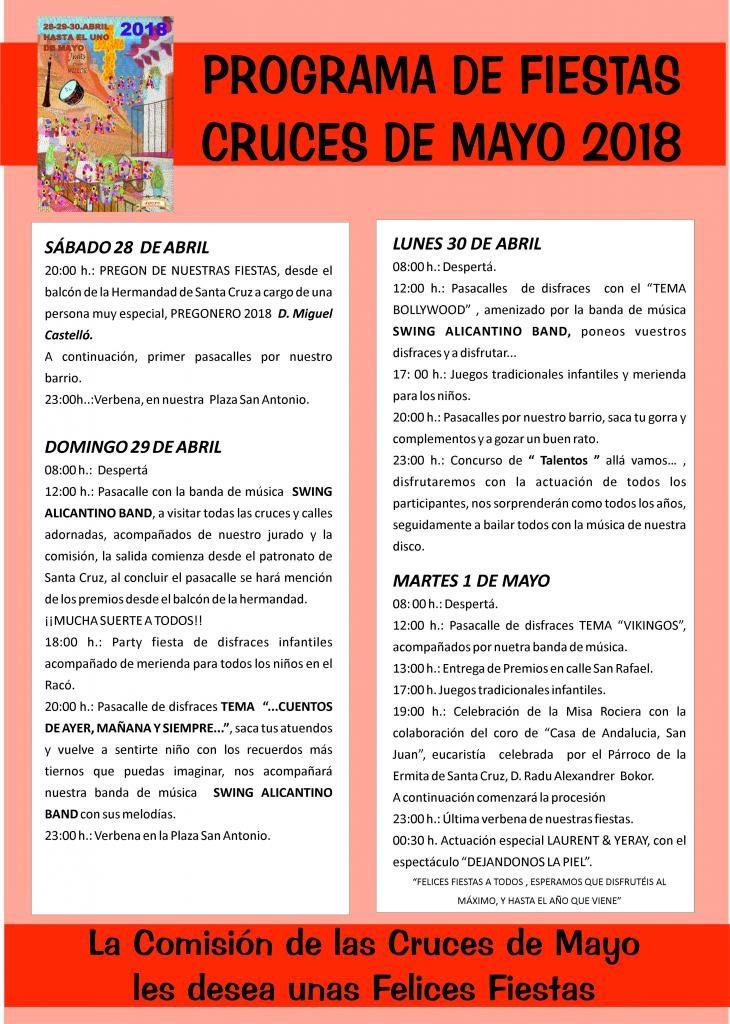 Cruces_de_mayo_alicante_programa_actos_2018