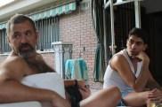 Tocho y Juan antes de pasar por chapa y pintura.