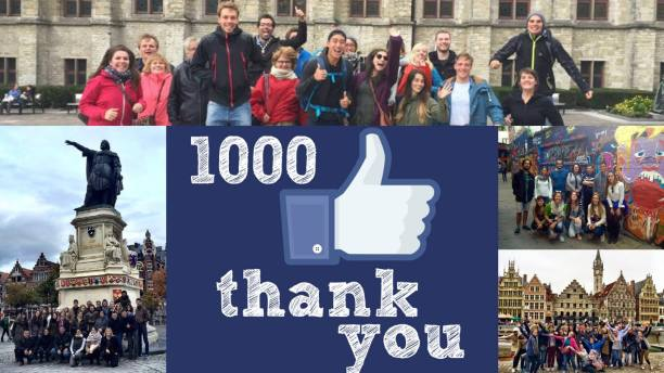 More than a 1.000 likes in Facebook. Thank you!!!!