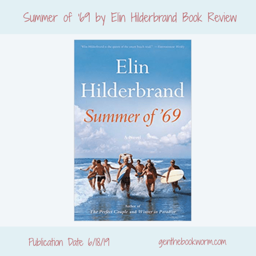 Elin Hilderbrand, summer reading, beach books