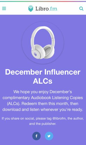 ALC program at LibroFM