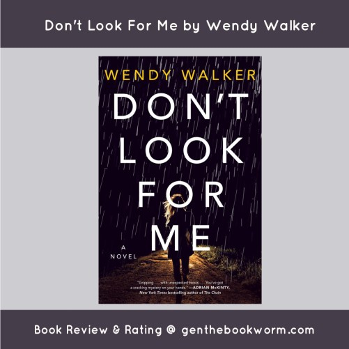Don't Look For Me Wendy Walker
