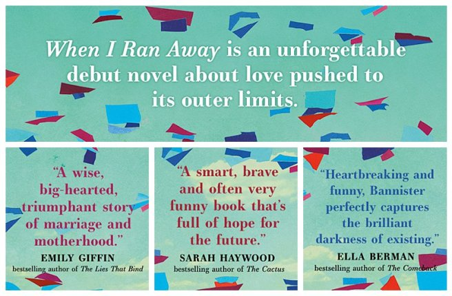 When I Ran Away book blurbs