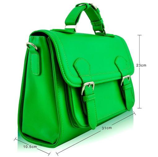 Geanta dama Felicia - verde brotacel - geanta umar