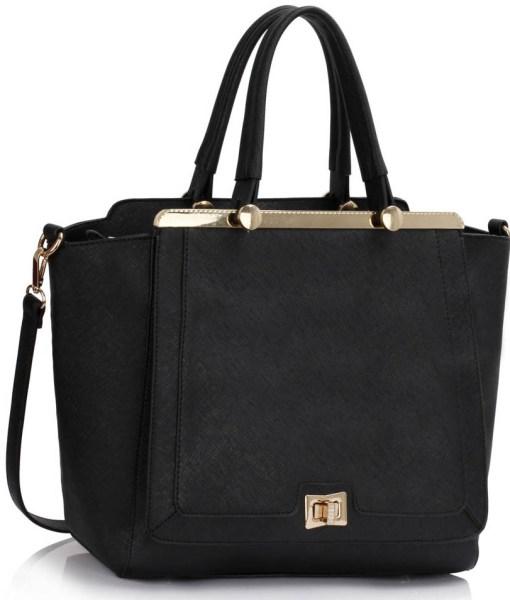 Geanta dama Pamela - negru - geanta tote
