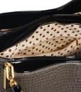 Geanta dama Flavia – imprimeu piele sarpe – geanta umar