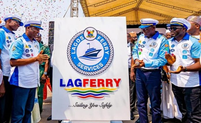 Water Transport: Lagos unveils speed boat (LAGFERRY)