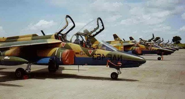 Nigeria Air Force Acquires 22 new fighter Jets